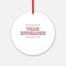 Team Huckabee Ornament (Round)