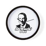 A Huck I be Wall Clock