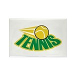 Tennis Attitude Rectangle Magnet (100 pack)