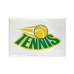 Tennis Attitude Rectangle Magnet (10 pack)