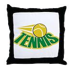 Tennis Attitude Throw Pillow