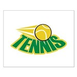 Tennis Attitude Small Poster