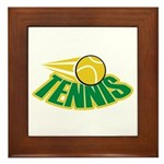 Tennis Attitude Framed Tile
