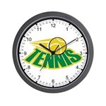 Tennis Attitude Wall Clock