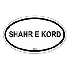 Shahr E Kord Oval Decal