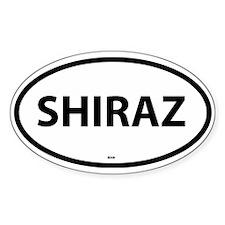 Shiraz Oval Decal