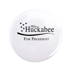 """Mike Huckabee for Presdient 3.5"""" Button (100 pack)"""