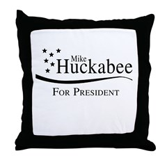 Mike Huckabee for Presdient Throw Pillow