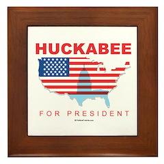 Mike Huckabee for President Framed Tile