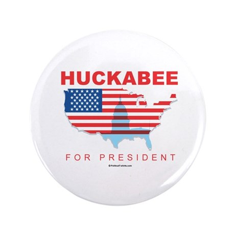 """Mike Huckabee for President 3.5"""" Button"""