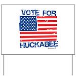 Vote for Huckabee Yard Sign