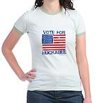 Vote for Huckabee Jr. Ringer T-Shirt
