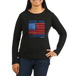 Vote for Huckabee Women's Long Sleeve Dark T-Shirt