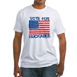Vote for Huckabee Fitted T-Shirt