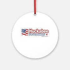 Huckabee 2008 Ornament (Round)