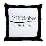 A Huck I be Throw Pillow
