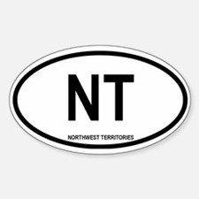 Northwest Territories Oval Decal