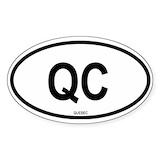 Quebec Bumper Stickers
