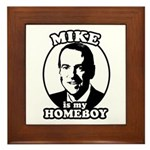 Mike Huckabee is my homeboy Framed Tile