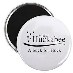 Mike Huckabee: A buck for Huck Magnet