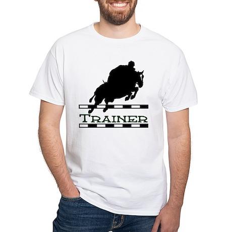 Jumping Trainer White T-Shirt