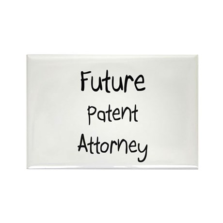 Future Patent Attorney Rectangle Magnet