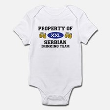 Serbian Infant Bodysuit