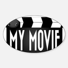 My Movie Clapperboard Decal