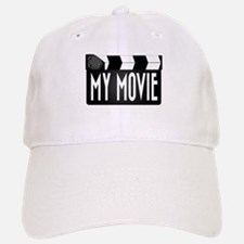 My Movie Clapperboard Baseball Baseball Cap