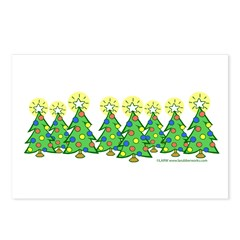 Christmas Forest Postcards (Package of 8)