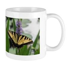 Swallowtail on Pickerel-weed Mug