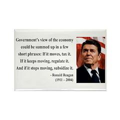 Ronald Reagan 1 Rectangle Magnet (100 pack)
