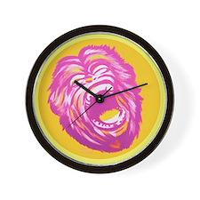 Screaming Monkey Wall Clock