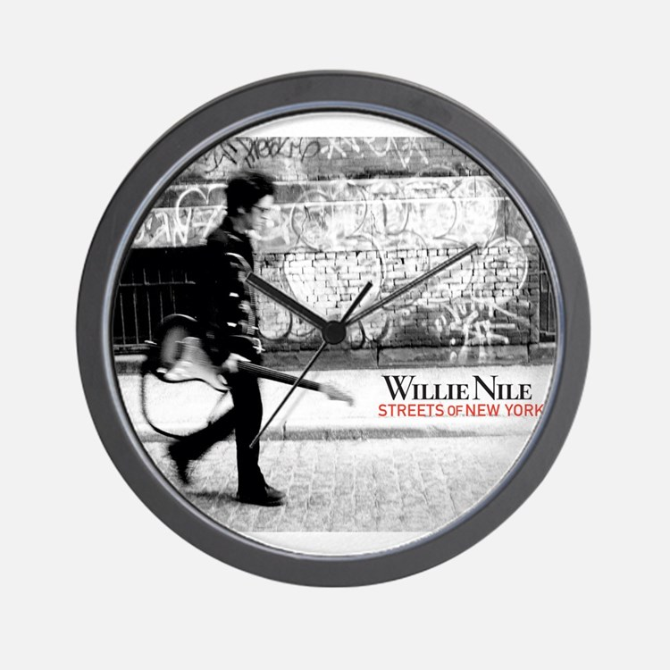 Streets Of New York Wall Clock