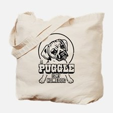 PUGGLE IS My Homedog - Tote Bag