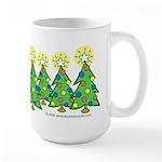 Christmas Forest Large Mug