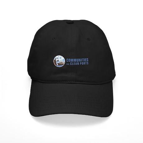 CCP Logo Wide Black Cap