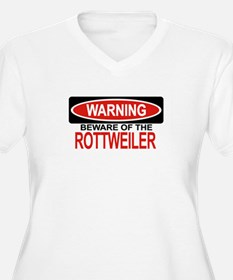 ROTTWEILER Womes Plus-Size V-Neck T-Shirt