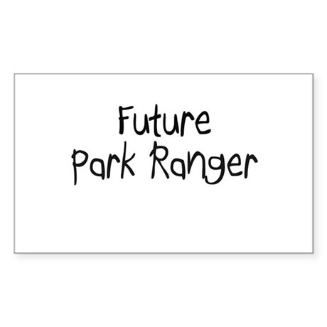 Future Park Ranger Rectangle Sticker