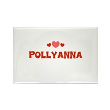 Pollyanna Rectangle Magnet