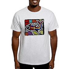 Mola Whale, Kuna art from San T-Shirt