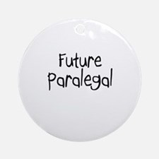 Future Paralegal Ornament (Round)