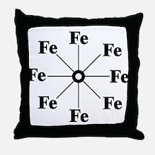 Ferrous Wheel Throw Pillow