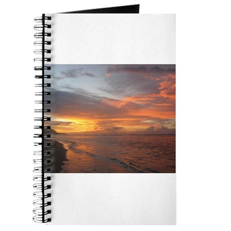 Sunset Swirls Journal