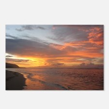 Sunset Swirls Postcards (Package of 8)