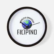 World's Greatest FILIPINO Wall Clock