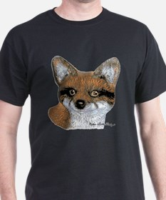 Fox Portrait Design T-Shirt