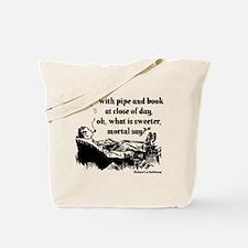 Pipe Smoker VII Tote Bag