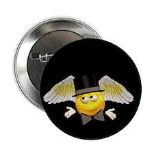 "Tuxedo Angel 2.25"" Button (10 pack)"