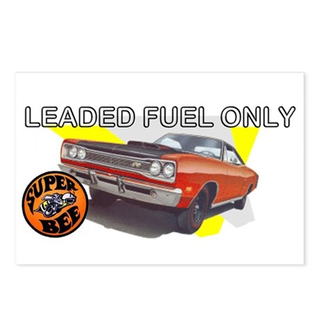 Leaded Fuel Only Postcards (Package of 8)